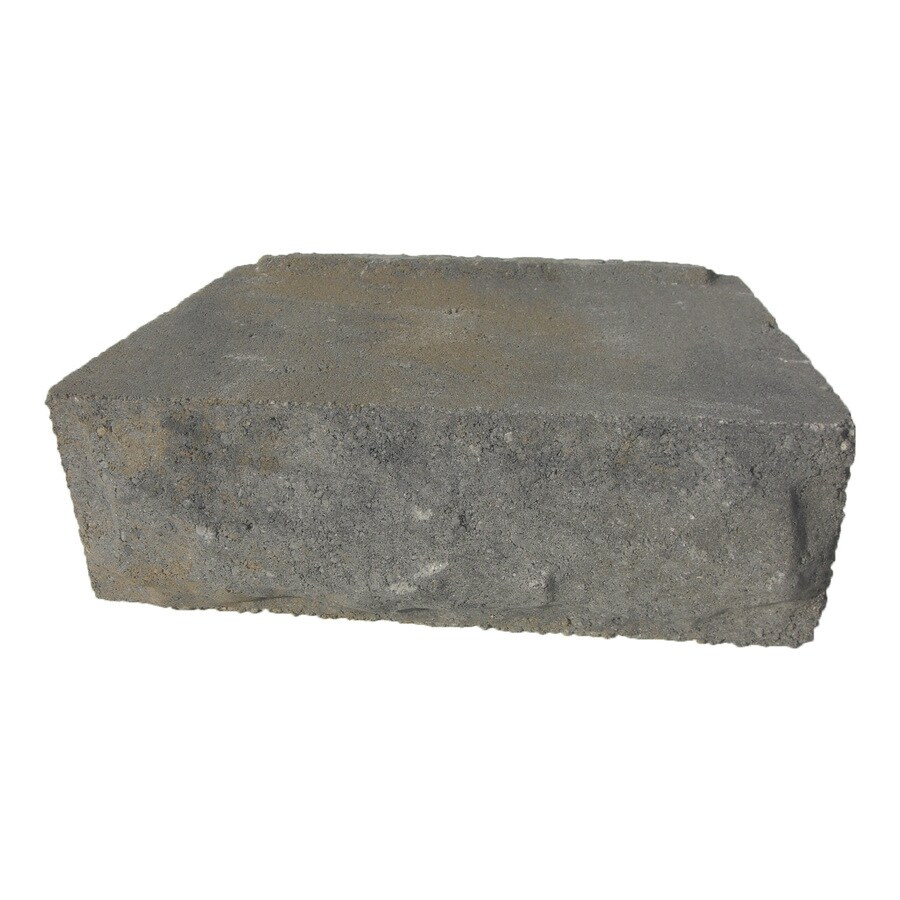 Allegheny Chiseled Concrete Retaining Wall Block (Common: 12-in x 4-in; Actual: 12-in x 4-in)