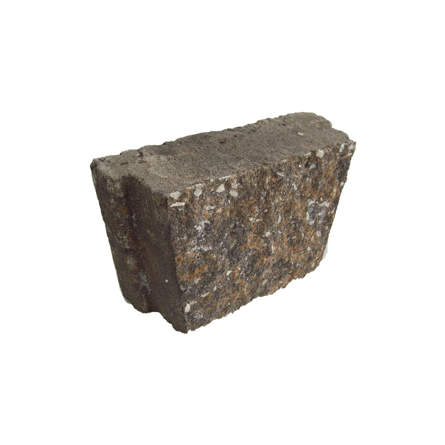 Tan/Charcoal Concrete Straight Edging Stone (Common: 3-in x 8-in; Actual: 3-in H x 8-in L)