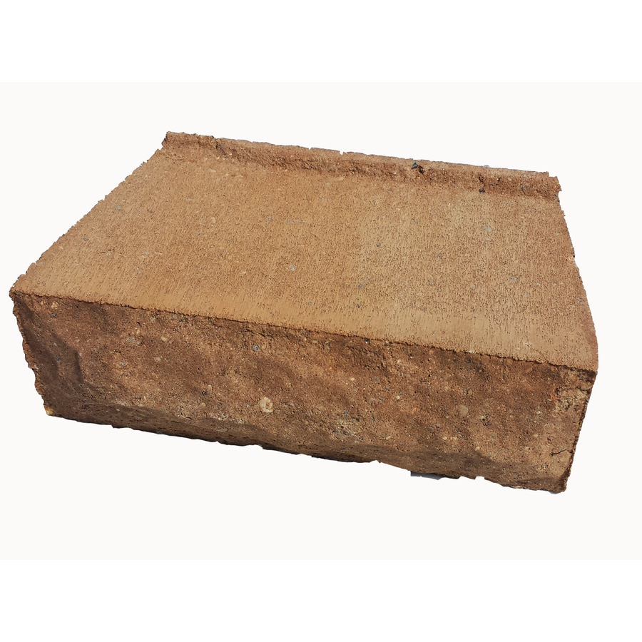 Sand Hill Chiseled Concrete Retaining Wall Block (Common: 12-in x 4-in; Actual: 12-in x 4-in)