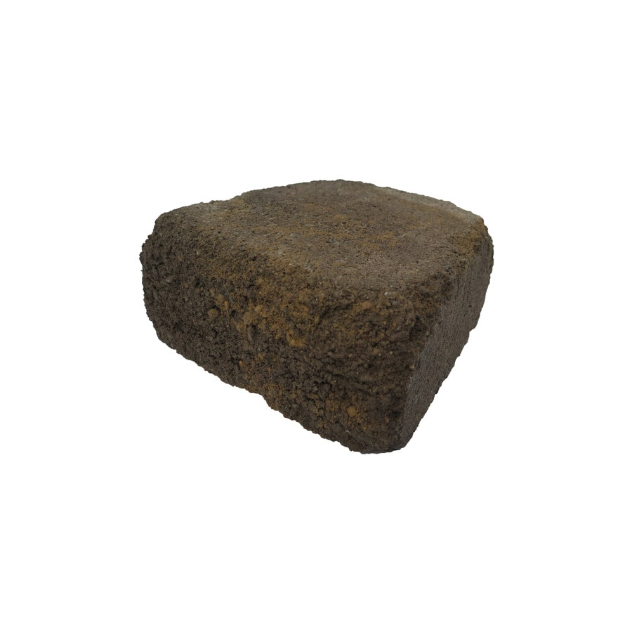Tranquil Beveled Concrete Retaining Wall Block (Common: 9-in x 4-in; Actual: 8.6-in x 4-in)