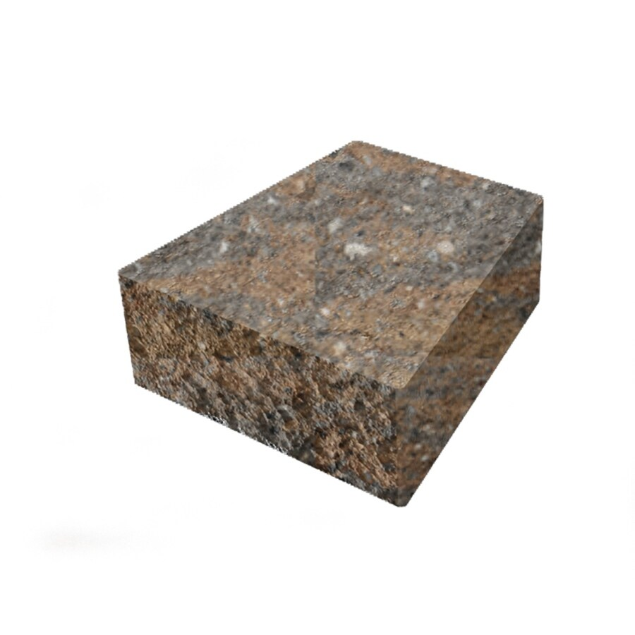 Sheffield Straight Concrete Retaining Wall Cap (Common: 8-in x 3-in; Actual: 8-in x 3-in)