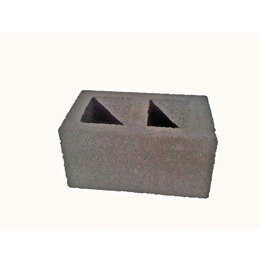 Oldcastle Concrete Fence Block (Common: 8-in x 10-in x 16-in; Actual: 7.875-in x 9.5-in x 15.5-in)