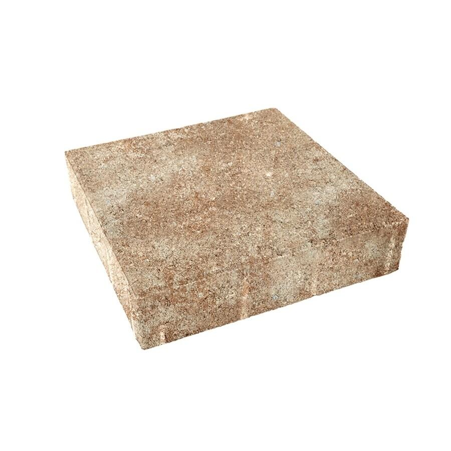 Amaretto Concrete Paver (Common: 10-in x 10-in; Actual: 9.8-in x 9.8-in)