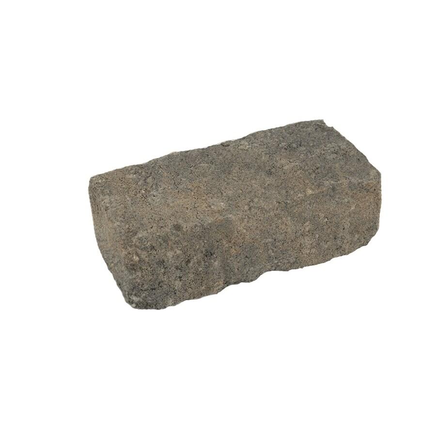 Silex Gray Concrete Paver (Common: 4-in x 7-in; Actual: 3.5-in x 7.1-in)