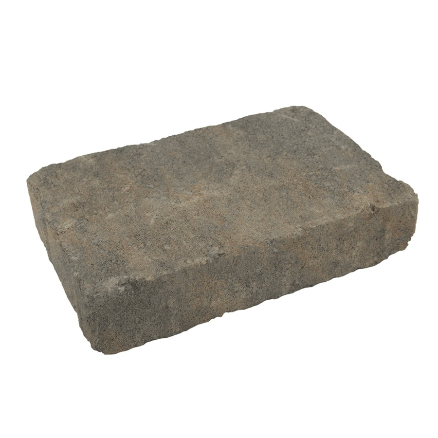 Silex Gray Concrete Paver (Common: 7-in x 11-in; Actual: 7.1-in x 10.6-in)