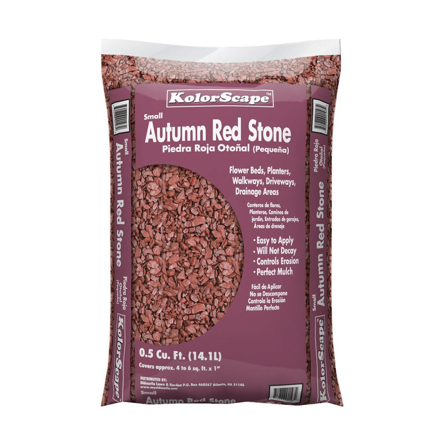 Kolor Scape 0.5-cu ft Autumn Red Stone