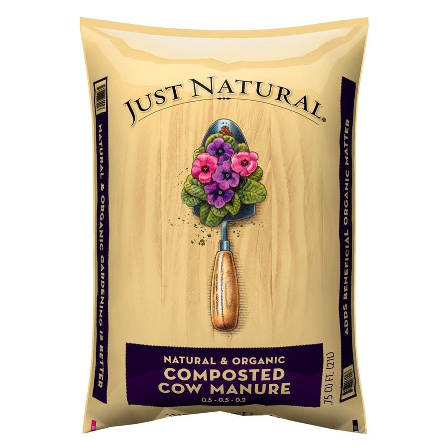 Just Natural Just Natural 0.75-cu ft Organic Manure