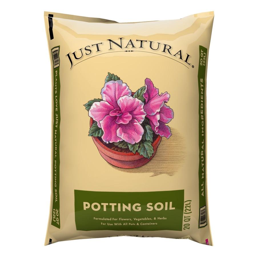 Oldcastle Just Natural 20-Quart Potting Soil