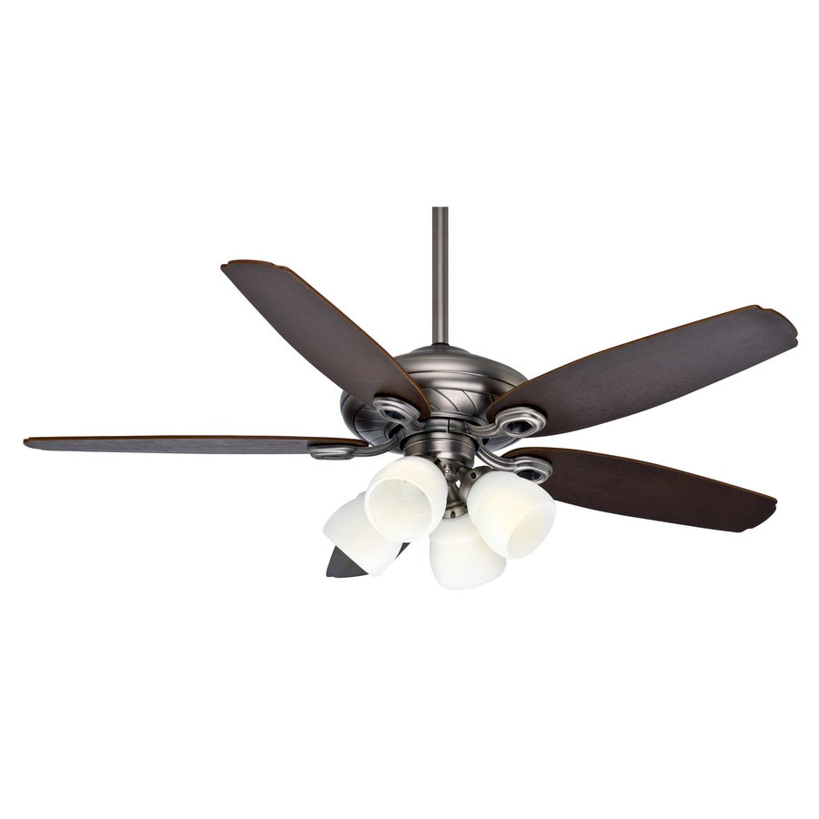 close mount indoor ceiling fan with light kit and remote at. Black Bedroom Furniture Sets. Home Design Ideas