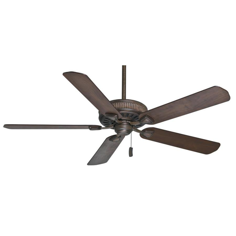 Casablanca Ainsworth 60-in Provence Crackle Downrod or Close Mount Indoor Residential Ceiling Fan ENERGY STAR