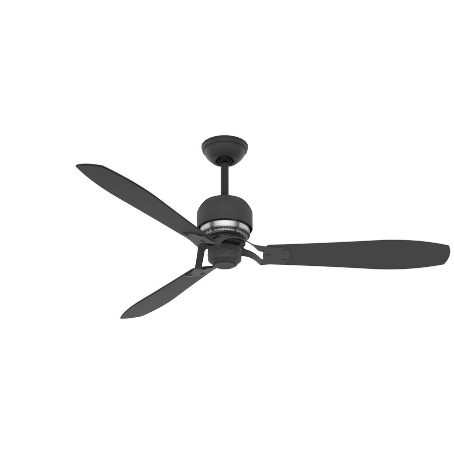 Casablanca Tribeca 60-in Graphite Downrod Mount Indoor Residential Ceiling Fan with Remote (3-Blade) ENERGY STAR