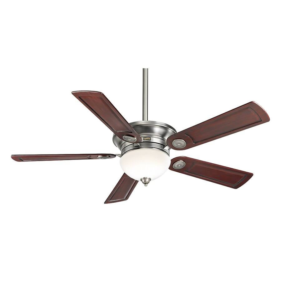 Casablanca 54-in Whitman Antique Pewter Ceiling Fan with Light Kit and Remote