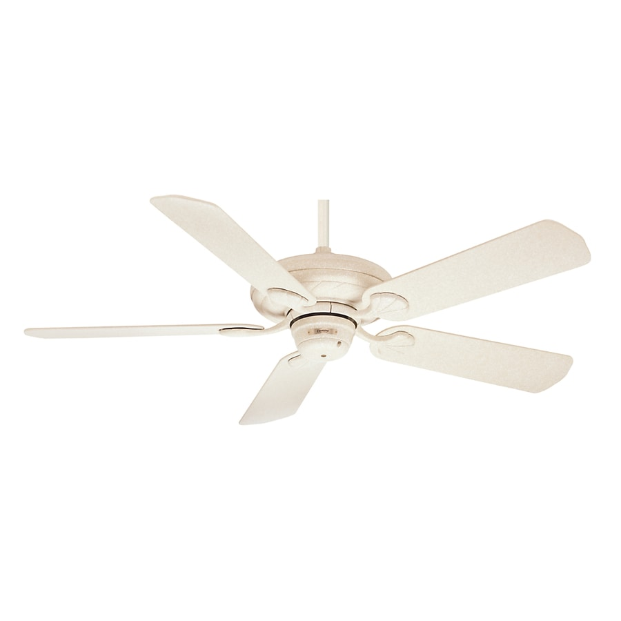 Casablanca 53-in Capistrano Navajo White Casual/Transitional Ceiling Fan ENERGY STAR