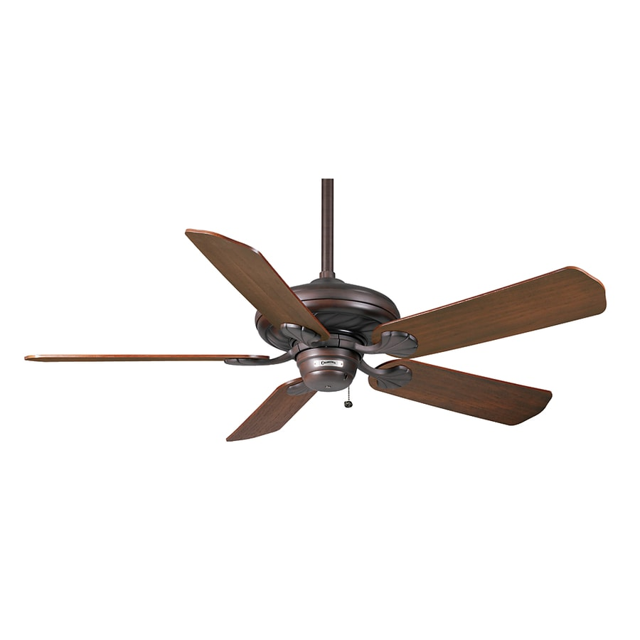 Casablanca 53-in Capistrano Brushed Cocoa Ceiling Fan ENERGY STAR