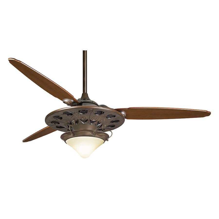 Casablanca 64-in Marrekesh Brushed Cocoa Ceiling Fan with Remote