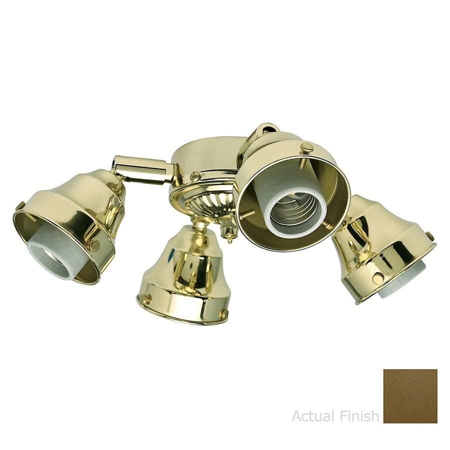Casablanca 4-Light Oil-Rubbed Bronze Fluorescent Ceiling Fan Light Kit