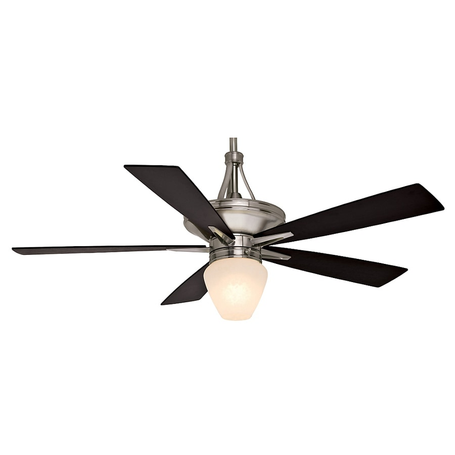 Casablanca Colorado 60-in Brushed Nickel Downrod Mount Indoor Ceiling Fan with Light Kit and Remote