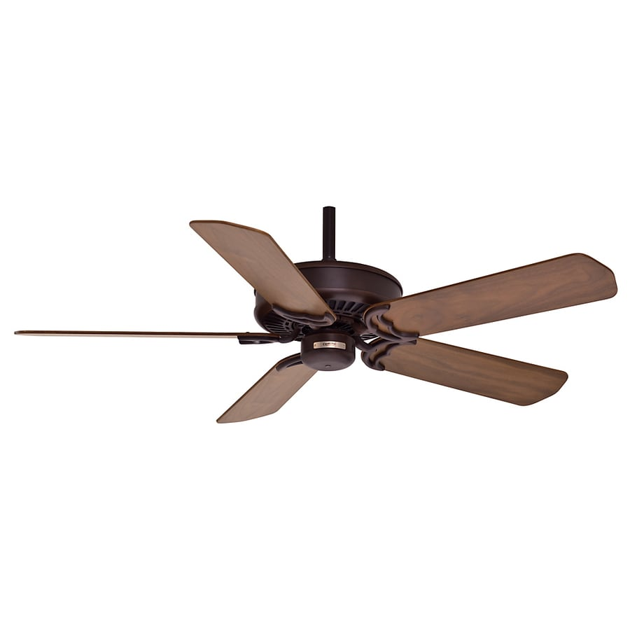 Casablanca Panama DC 54-in Brushed Cocoa Downrod Mount Ceiling Fan with Remote ENERGY STAR