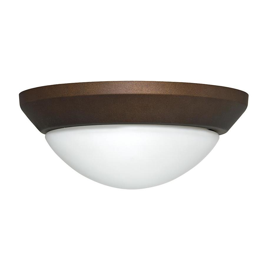 Casablanca 2-Light Maiden Bronze Incandescent Ceiling Fan Light Kit with Frosted Glass