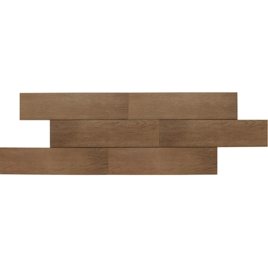 American Olean 12-Pack Terreno Sandalwood Thru Body Porcelain Floor Tile (Common: 6-in x 24-in; Actual: 5.87-in x 23.62-in)