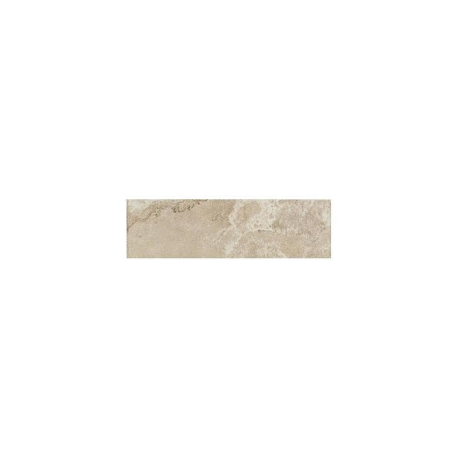 American Olean Pozzalo Coastal Beige Ceramic V Cap Tile (Common: 2-in x 6-in; Actual: 2-in x 6-in)