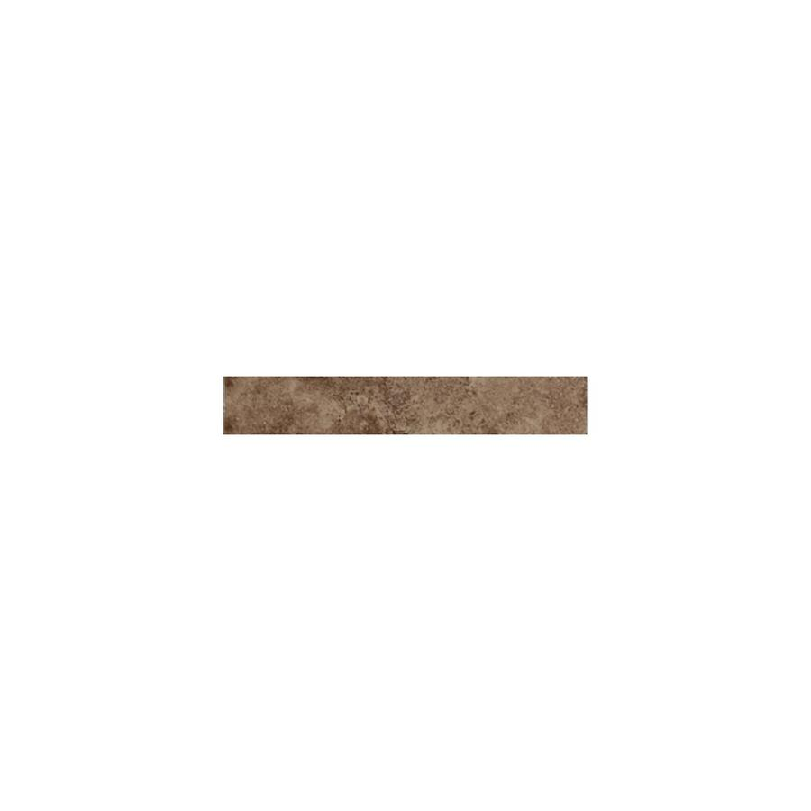 American Olean Pozzalo Weathered Noce Ceramic Quarter Round Tile (Common: 1-in x 6-in; Actual: 1-in x 6-in)