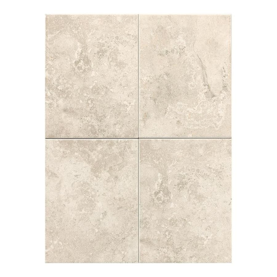 American Olean Pozzalo 15-Pack Sail White Ceramic Wall Tile (Common: 6-in x 14-in; Actual: 8.93-in x 11.93-in)