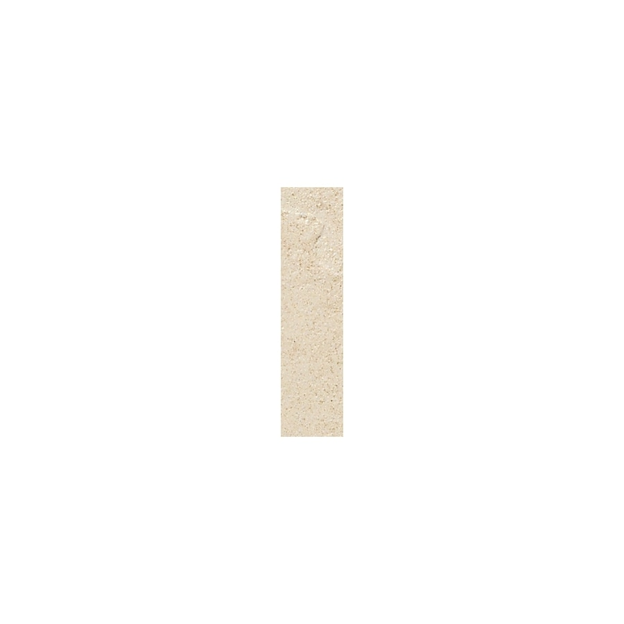 American Olean Shadow Bay Morning Mist Thru Body Porcelain Bullnose Tile (Common: 1-in x 6-in; Actual: 1-in x 6-in)