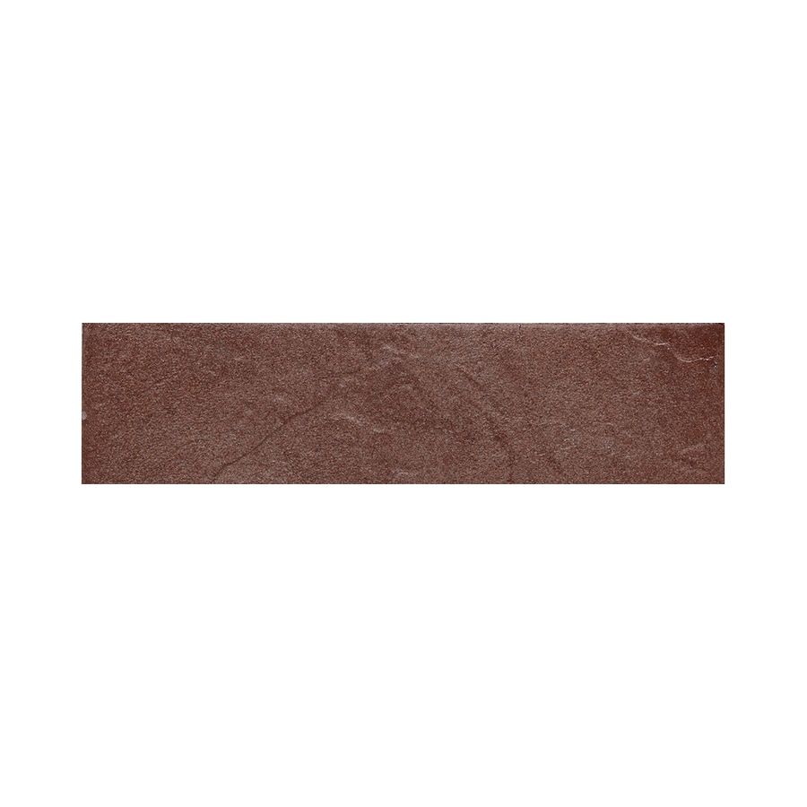 American Olean Shadow Bay Sunset Cove Thru Body Porcelain Bullnose Tile (Common: 3-in x 12-in; Actual: 2.87-in x 11.81-in)