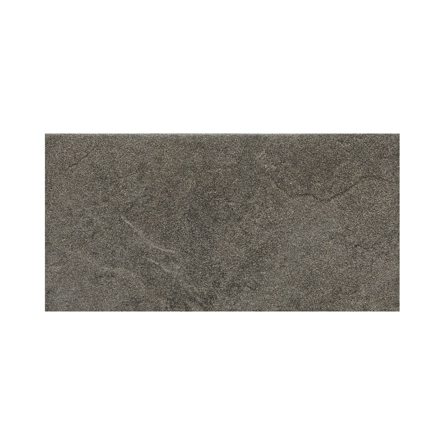 American Olean Shadow Bay Sea Grass Thru Body Porcelain Bullnose Tile (Common: 8-in x 10-in; Actual: 6-in x 12-in)