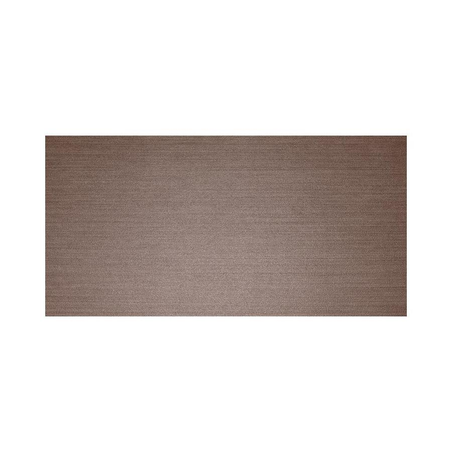 American Olean Infusion 6-Pack Brown Wenge Thru Body Porcelain Floor and Wall Tile (Common: 12-in x 24-in; Actual: 11.75-in x 23.5-in)