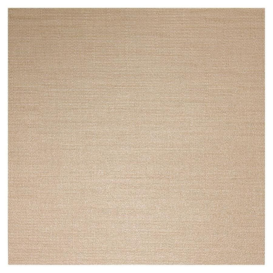 American Olean Infusion 4-Pack Gold Fabric Thru Body Porcelain Floor and Wall Tile (Common: 24-in x 24-in; Actual: 23.5-in x 23.5-in)
