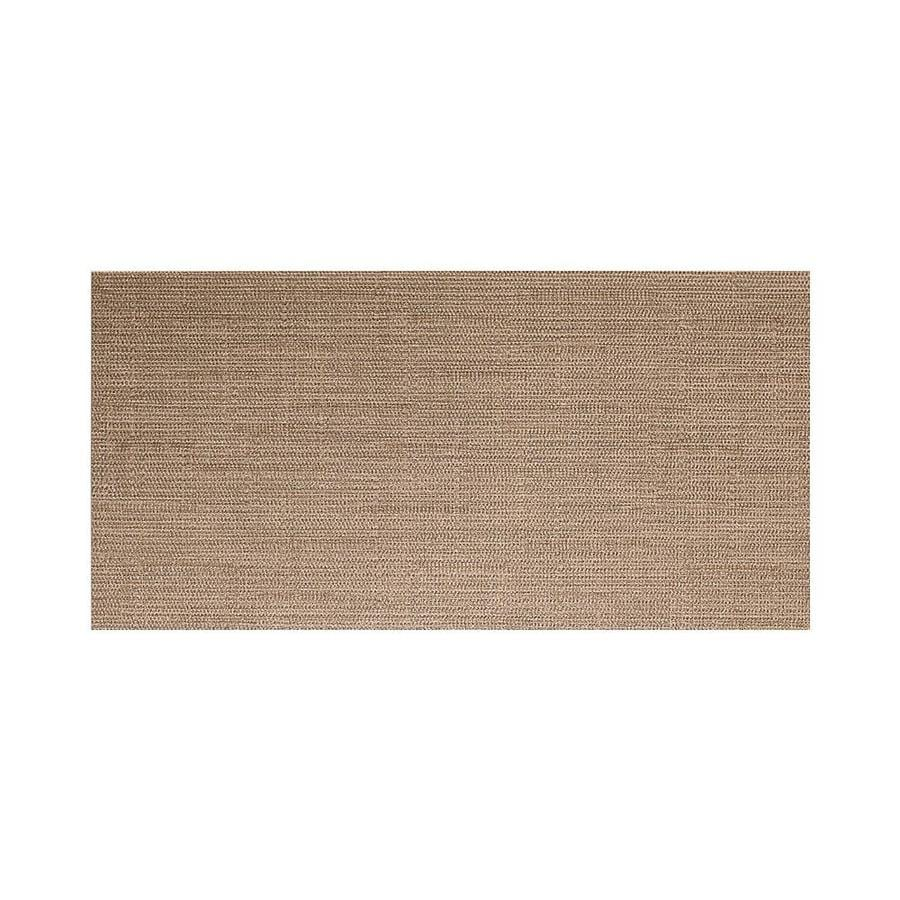 American Olean Infusion 6-Pack Taupe Fabric Thru Body Porcelain Floor and Wall Tile (Common: 12-in x 24-in; Actual: 11.75-in x 23.5-in)