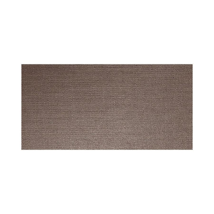 American Olean Infusion 6-Pack Brown Fabric Thru Body Porcelain Floor and Wall Tile (Common: 12-in x 24-in; Actual: 11.75-in x 23.5-in)