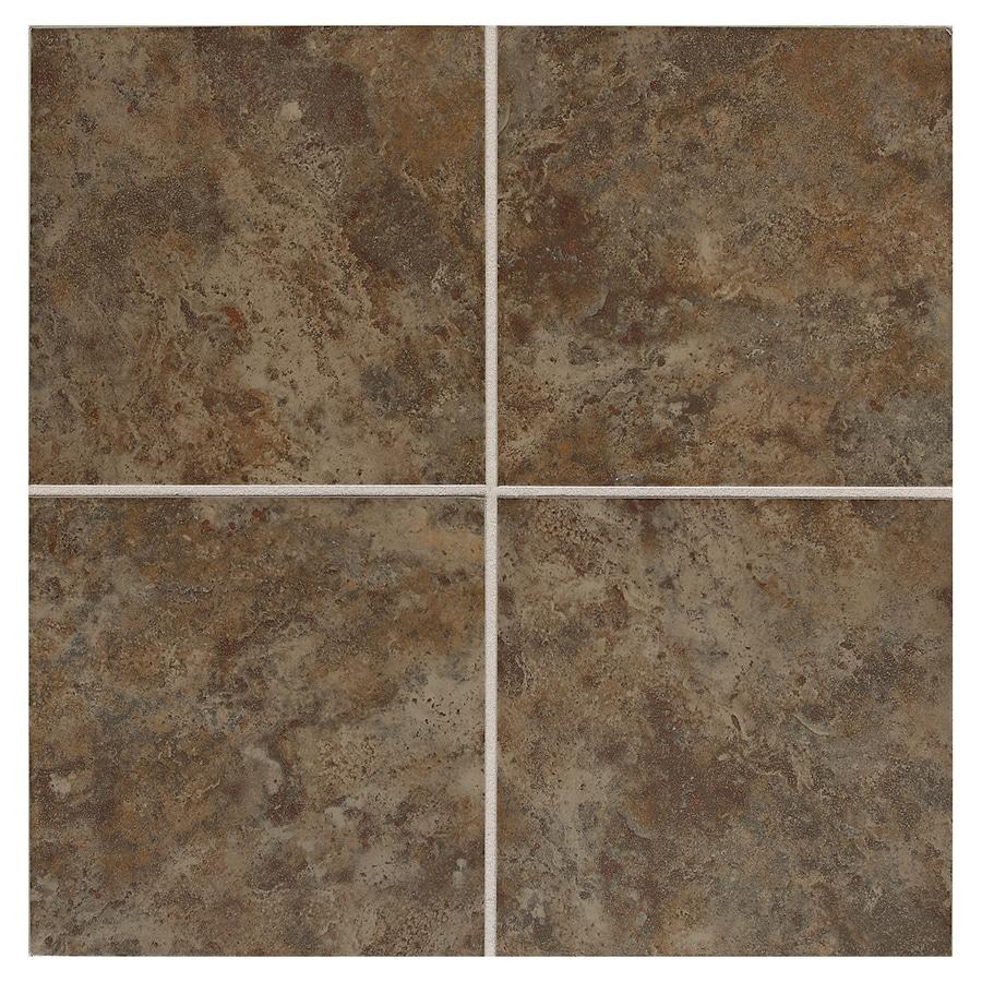 American Olean Belmar 11-Pack Olive Ceramic Floor and Wall Tile (Common: 12-in x 12-in; Actual: 11.81-in x 11.81-in)