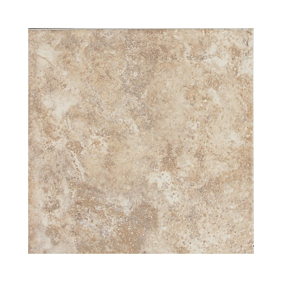 American Olean Belmar Cashmere Ceramic Bullnose Tile (Common: 6-in x 6-in; Actual: 6-in x 6-in)