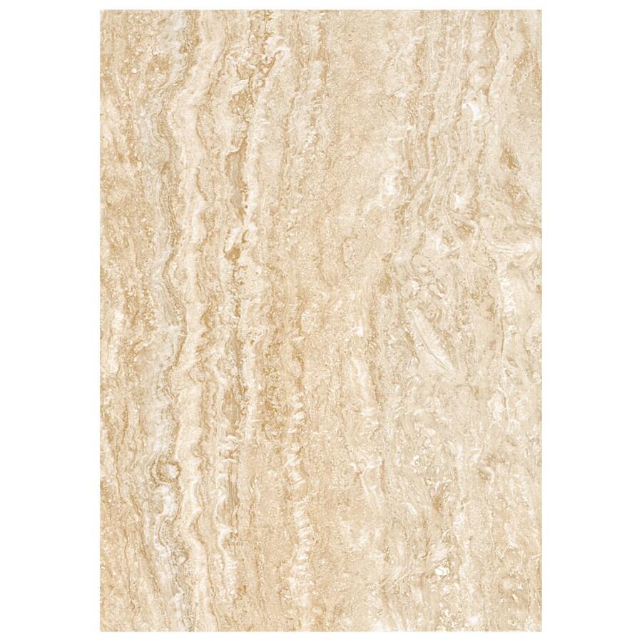 American Olean Salcedo 15-Pack Cortez Beige Ceramic Wall Tile (Common: 10-in x 14-in; Actual: 9.84-in x 13.96-in)