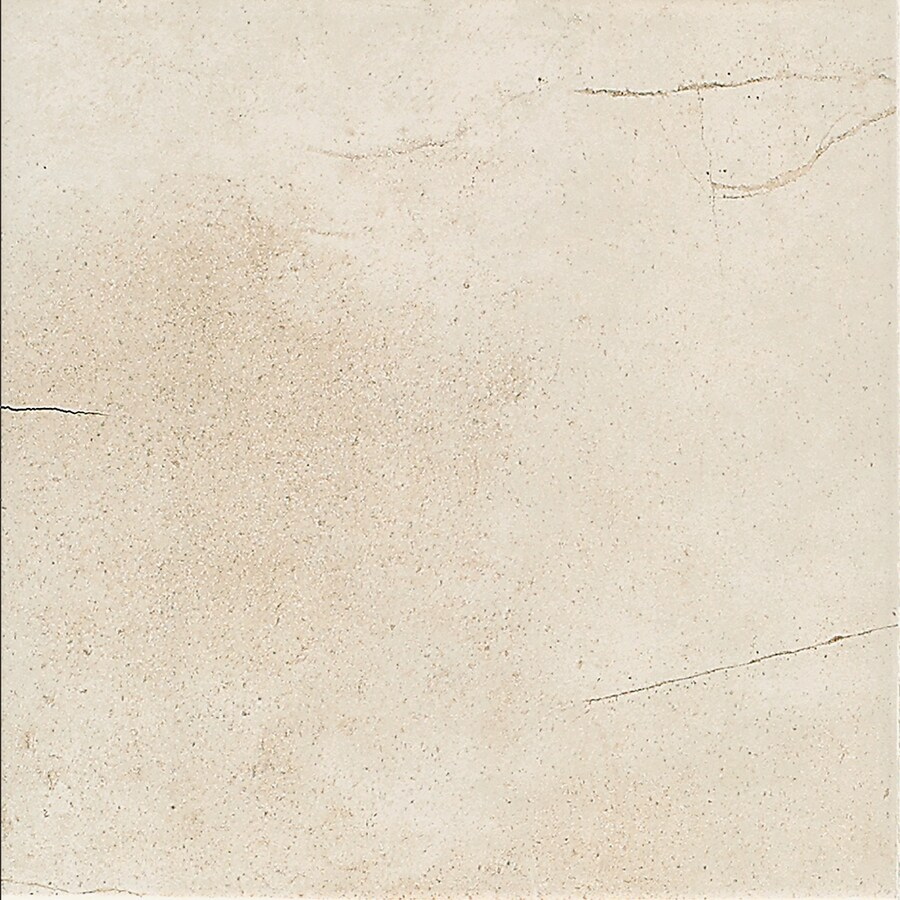 American Olean Costa Rei 11-Pack Pietre Bianca Ceramic Floor and Wall Tile (Common: 12-in x 12-in; Actual: 11.81-in x 11.81-in)