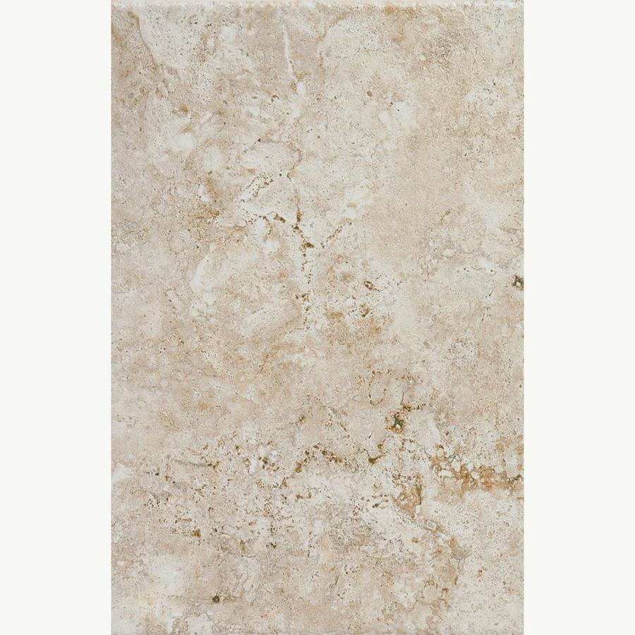American Olean Bordeaux 7-Pack Creme Porcelain Floor and Wall Tile (Common: 13-in x 20-in; Actual: 13.12-in x 19.75-in)