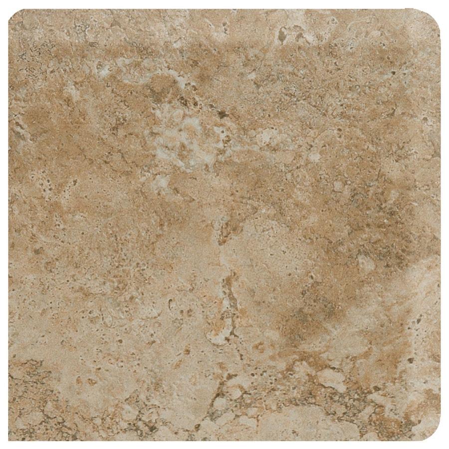 American Olean Bordeaux Marron Ceramic Bullnose Tile (Common: 3-in x 3-in; Actual: 3-in x 3-in)