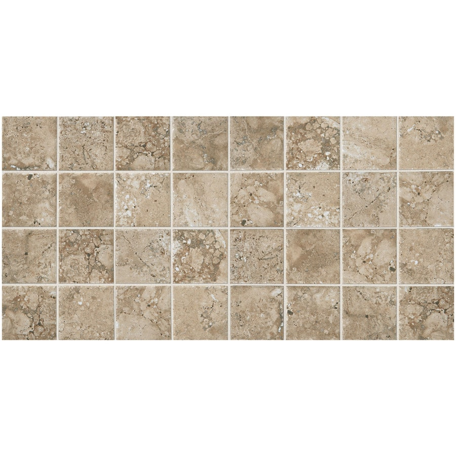 American Olean Bordeaux 12-Pack Chameau Porcelain Floor and Wall Tile (Common: 12-in x 24-in; Actual: 11.93-in x 23.93-in)