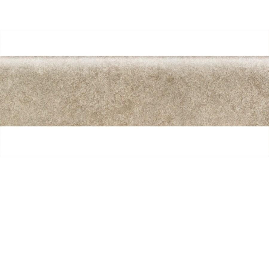 American Olean Castlegate Gray Porcelain Bullnose Tile (Common: 3-in x 12-in; Actual: 2.87-in x 11.81-in)