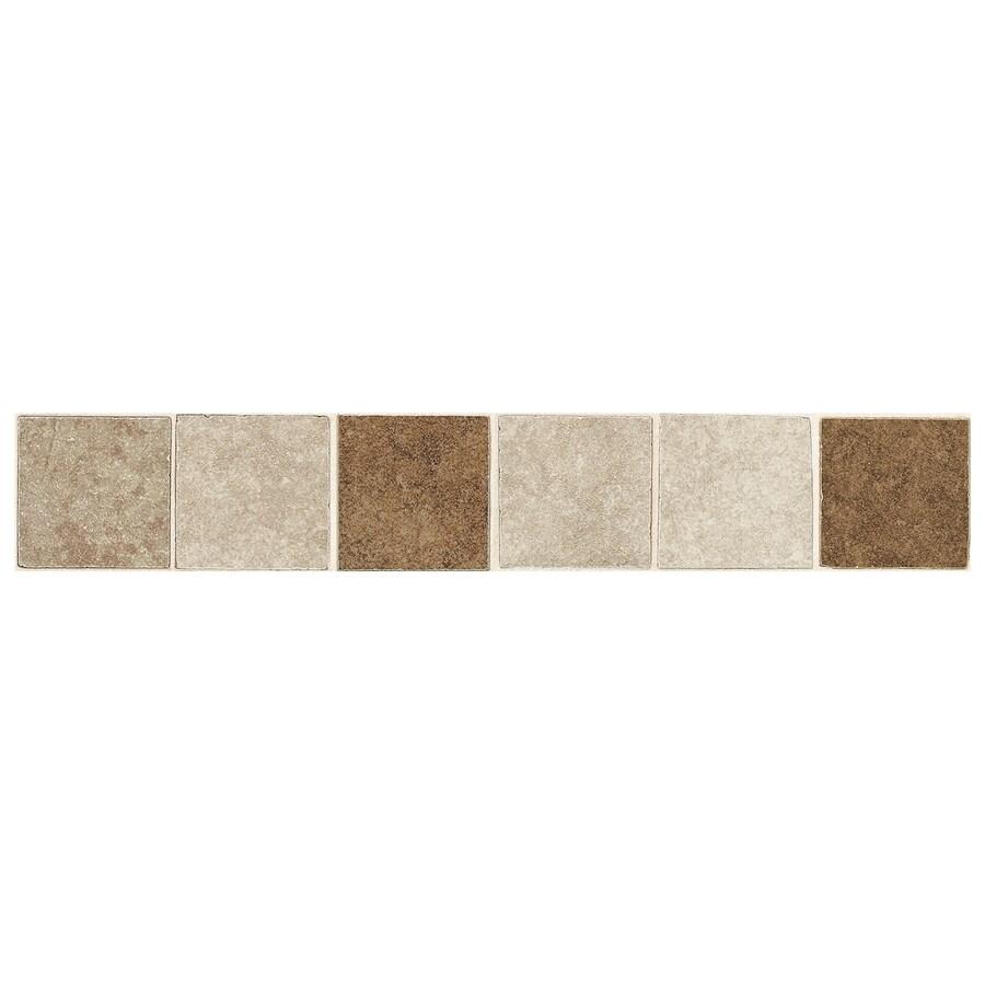 American Olean Castlegate Universal Porcelain Bullnose Tile (Common: 2-in x 12-in; Actual: 2-in x 12-in)