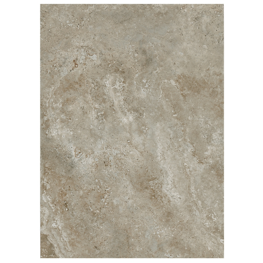 American Olean Stone Claire 10-Pack Ashen Ceramic Wall Tile (Common: 10-in x 14-in; Actual: 9.84-in x 13.96-in)