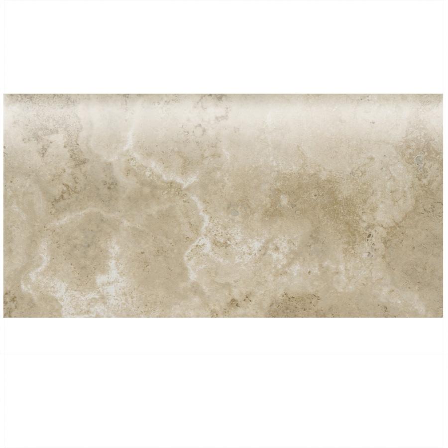 American Olean Stone Claire Bluff Ceramic Bullnose Tile (Common: 3-in x 6-in; Actual: 3-in x 6-in)