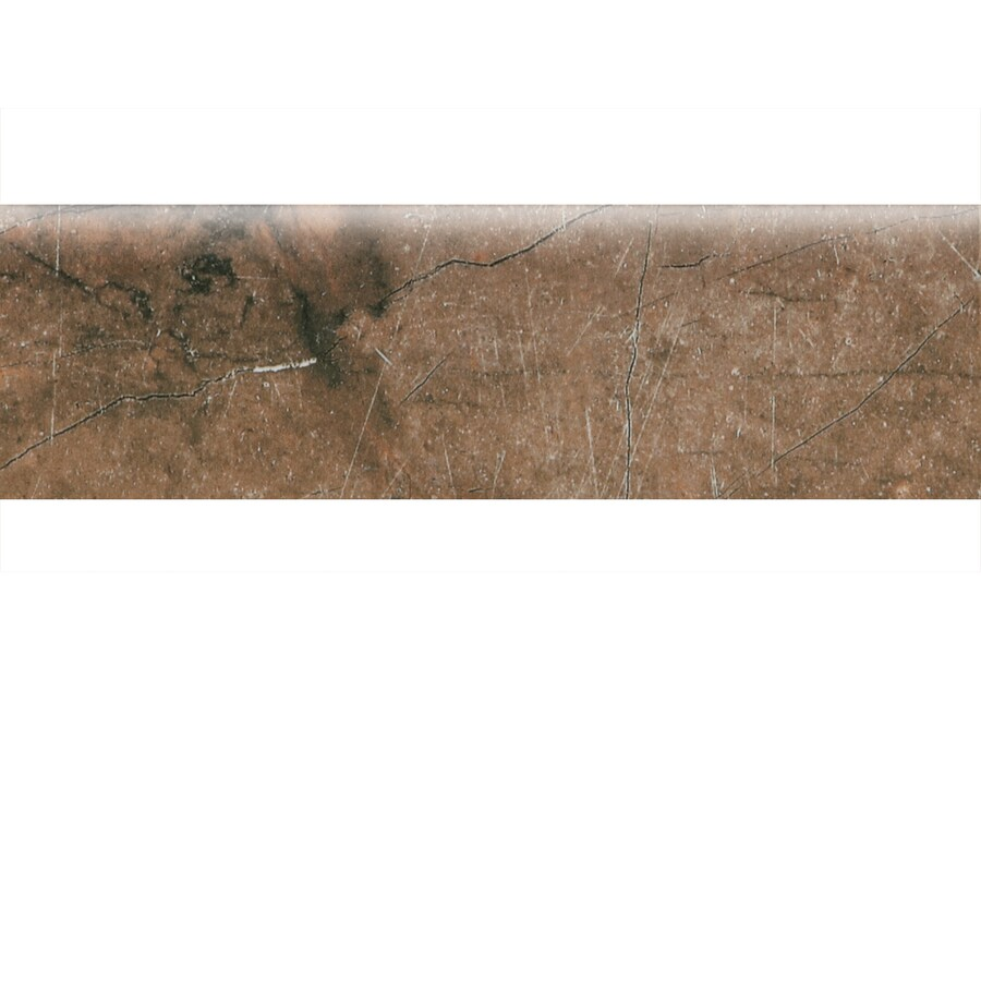 Shop american olean bevalo earth ceramic bullnose tile for 10 x 10 ceramic floor tile