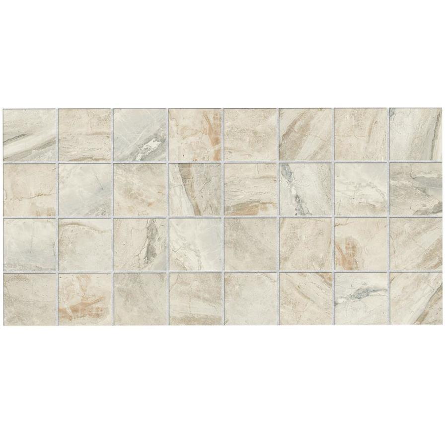 Shop American Olean Danya 12 Pack Stream Uniform Squares Mosaic Ceramic Floor And Wall Tile