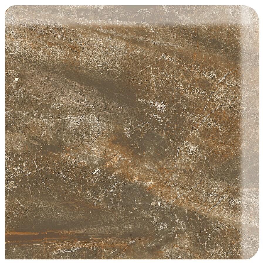 American Olean Danya Riverbed Ceramic Bullnose Corner Tile (Common: 3-in x 3-in; Actual: 3-in x 3-in)