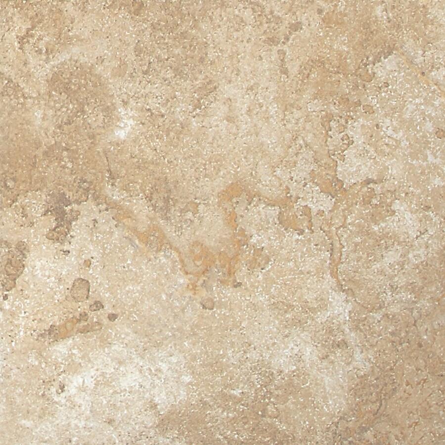 American Olean Montego 15-Pack Bluff Beige Porcelain Floor Tile (Common: 12-in x 12-in; Actual: 11.81-in x 11.81-in)