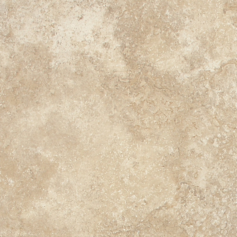 American Olean Montego 15-Pack Coastal Ivory Porcelain Floor Tile (Common: 12-in x 12-in; Actual: 11.81-in x 11.81-in)
